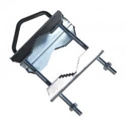Zanca a ringhiera - palo max 60mm