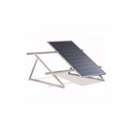 Struttura di sostegno a 45° per 2 moduli fotovoltaici su tetto