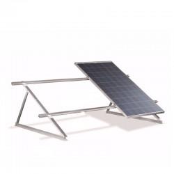 Struttura di sostegno a 45° per 3 moduli fotovoltaici su tetto