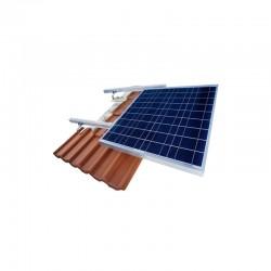 Supporto per tetto a FALDA per max 3 pannelli solari - max 210cm