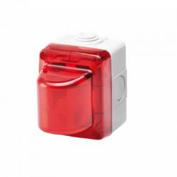 Spia di segnalazione Rossa LED 2W -12-24V