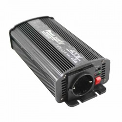 Inverter onda modificata 24V-230V 600W (picco 1200W) uscita USB