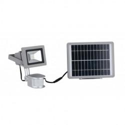 Kit luce di cortesia LED con pannello solare e sensore di movimento